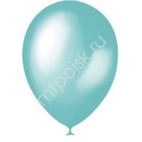 """M 9""""/23см Металлик AQUA BLUE 639 100шт"""