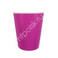 Y 250мл Стаканы бумажные Hot Pink 6шт