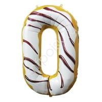 """Y Фигура Цифра 0 Пончик 40""""/102см"""