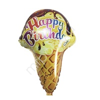 """Y Фигура 33 Мороженое Happy Birthday 18""""/45см"""