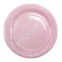 Y 18см Тарелки бумажные ламинированные Pink 6шт