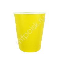 Y 250мл Стаканы бумажные Yellow 6шт