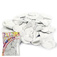 AC Конфетти 100гр 3см бумажное Круги белые