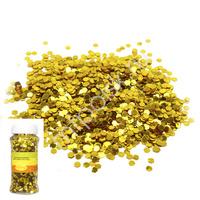 Y Блестки конфетти для декора золотые 70г
