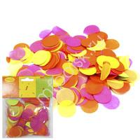 Y Конфетти бумажное Круги разноцветные яркие 2,5см 14гр
