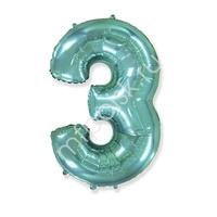 "FM Фигура Цифра 3 Tiffany 36""/91см"