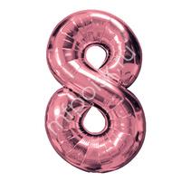 "Фигура Цифра 8 Rose Gold 40""/102см"