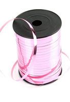 Лента Металлизированная 5мм X 250м Розовая