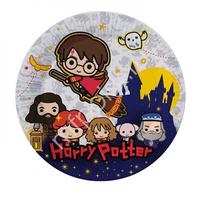 Тарелки бумажные Гарри Поттер 18 см 6 шт