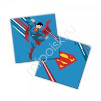 Салфетки Супермен 33см X 33 см 12шт