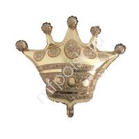 Фигура Корона 68 см Х 71 см шар фольгированный