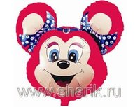 1206-0099 Ф М/ФИГУРА/3 Бабси Маус красная(FM)