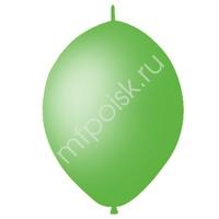 "M 12""/30см Шар LINKING Декоратор LIME GREEN 50шт"