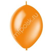 """M 12""""/30см Шар LINKING Декоратор ORANGE 50шт"""