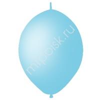 "M 12""/30см Шар LINKING Декоратор SKY BLUE 50шт"
