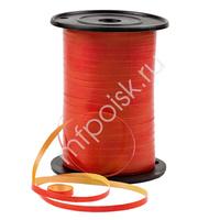 RL Лента 5мм x 500м Двухцветная Красная/Желтая P0555