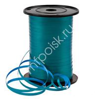 RL Лента 5мм x 500м Двухцветная Морская волна/Голубой P0548