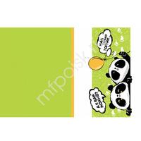 Y Скатерть полиэтиленовая Панда С Праздником! 137см X 181см