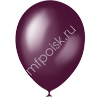"M 9""/23см Металлик BURGUNDY 032 100шт"