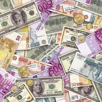 Салфетки Деньги 33 см X 33 см 12 шт