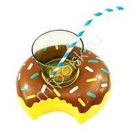 Y Подставка надувная Пончик шоколадный 20см