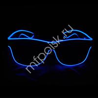 Y Очки с подсветкой BLUE