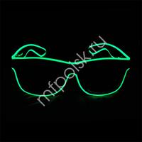 Y Очки с подсветкой GREEN