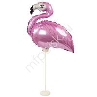 Y Фигура 82 Фламинго PINK на подставке 35см Х 43см