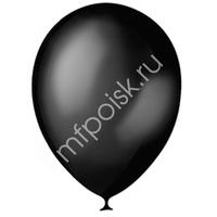 "M 14""/35см Премиум Металлик BLACK 030 50шт"