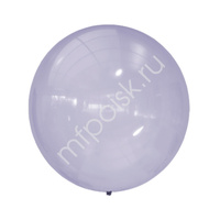 "M 24""/61см Кристалл Bubble PURPLE 249 1шт"