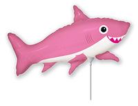 1206-1005 Ф М/ФИГУРА/3 Акула веселая розовая/FM